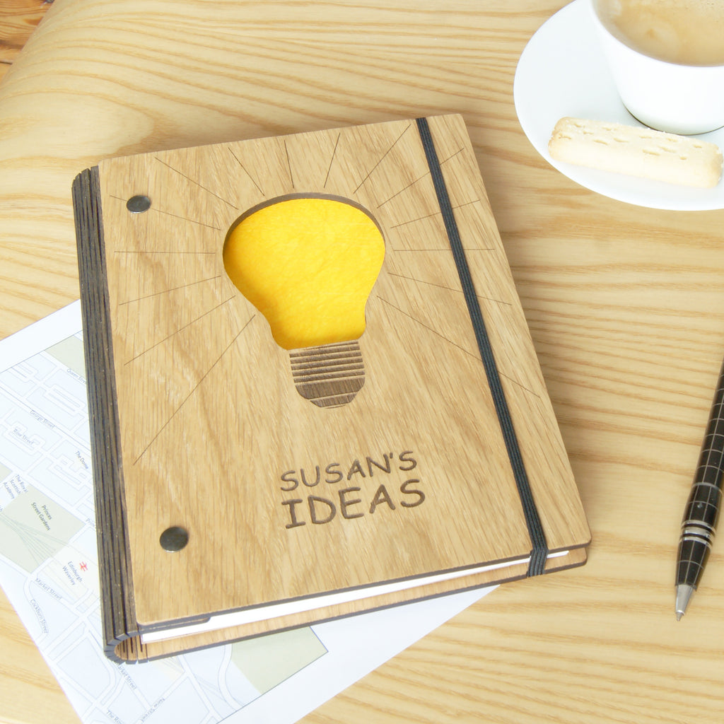 Ideas Notebook in Yellow