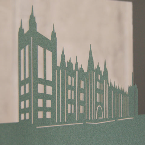 Aberdeen - Marischal College Mini Wall Art