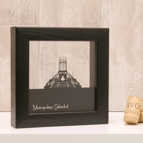 Liverpool - Metropolitan Cathedral Mini Wall Art