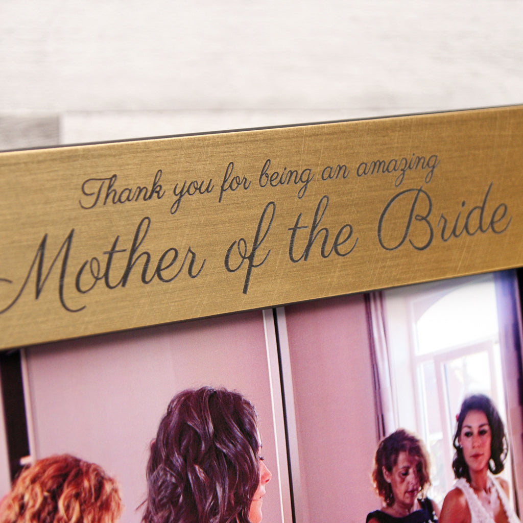 Personalised 'Mother Of The Bride or Groom' Photo Frame