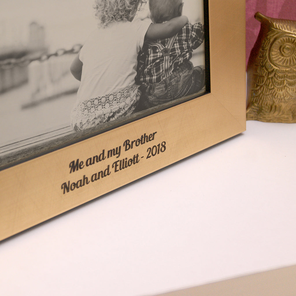 Love Ones Photo Frame in Gold