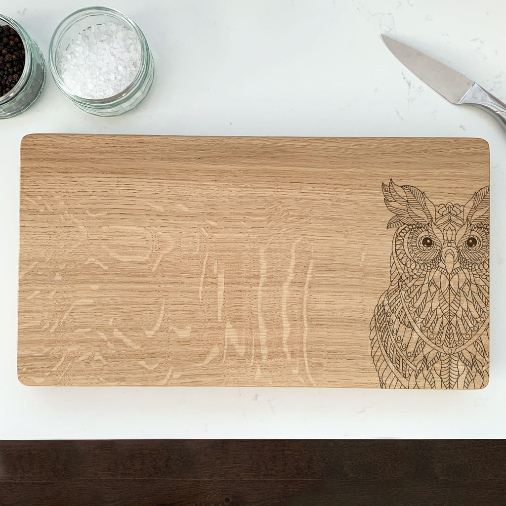 Wooden Owl Chopping Board