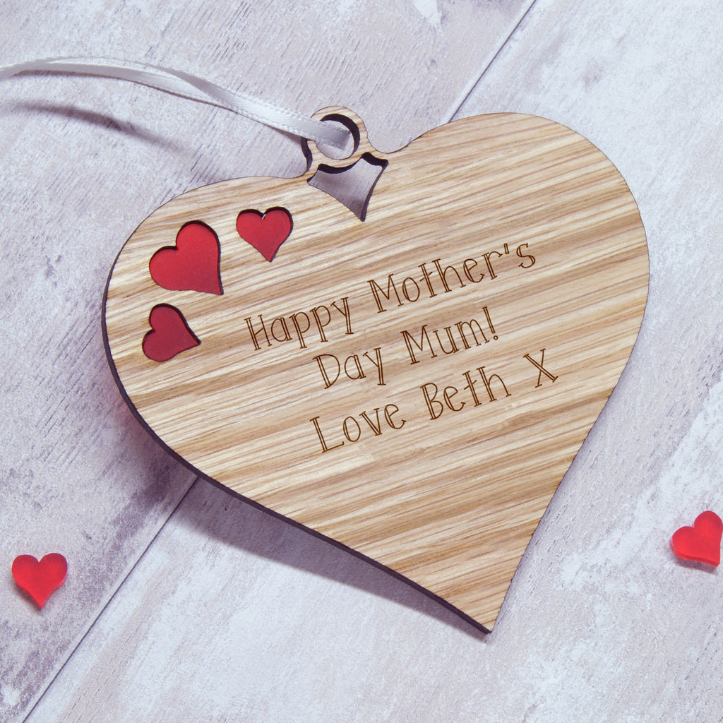 Personalised Mother's Day Hanging Heart