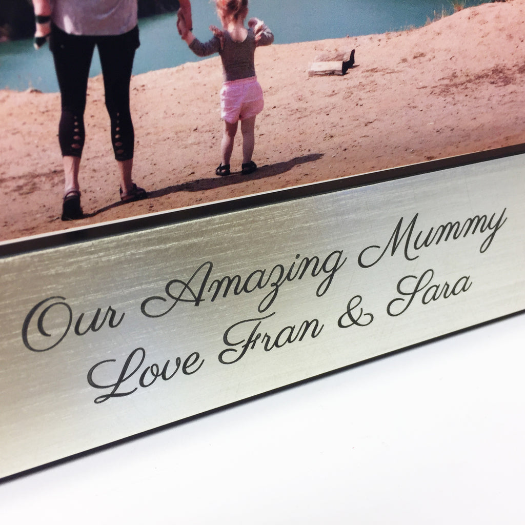 Personalised Mother's Day Love Hearts Photo Frame