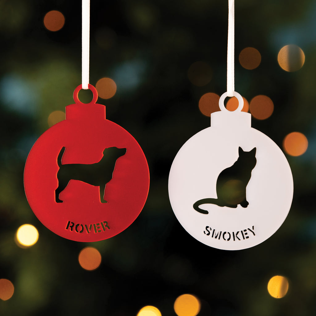 Personalised Pet Christmas Tree Decoration