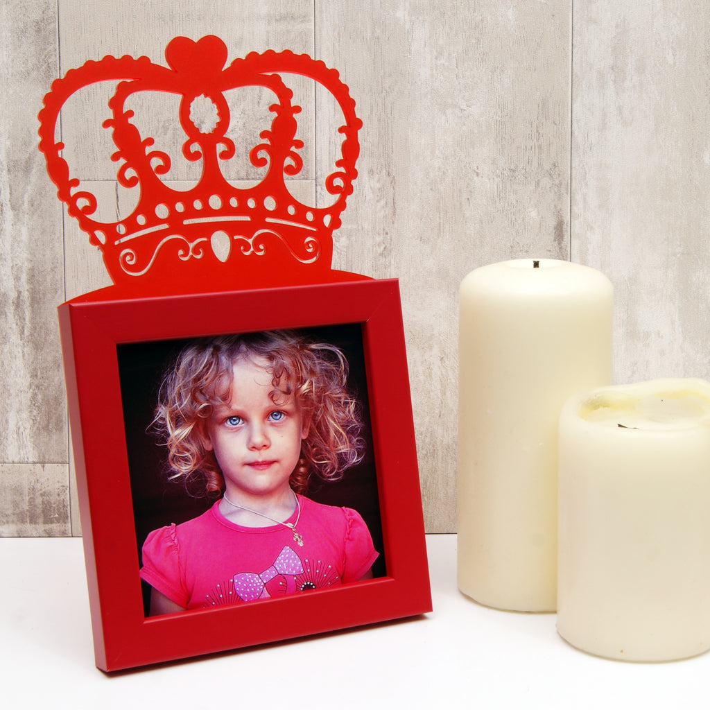 Child's 'Little Queen' Mini Photo Frame