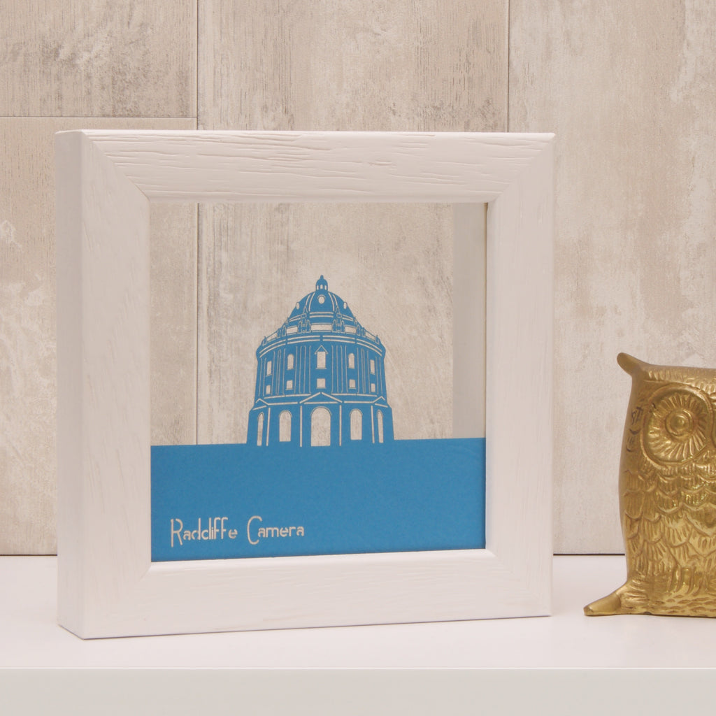 Radcliffe Camera in Tabriz Blue