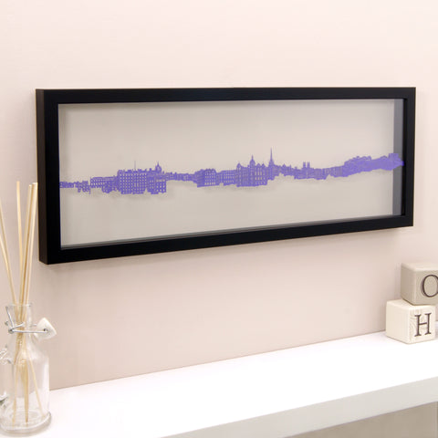 Edinburgh - Royal Mile Papercut Wall Art
