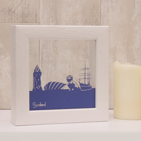 Scotland - Landmarks Mini Wall Art