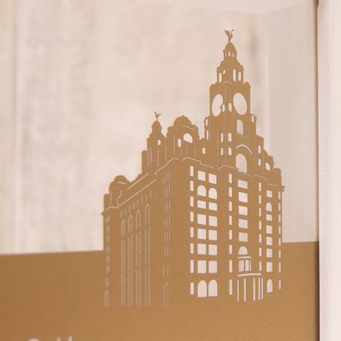 Liverpool - Liver Building Mini Wall Art