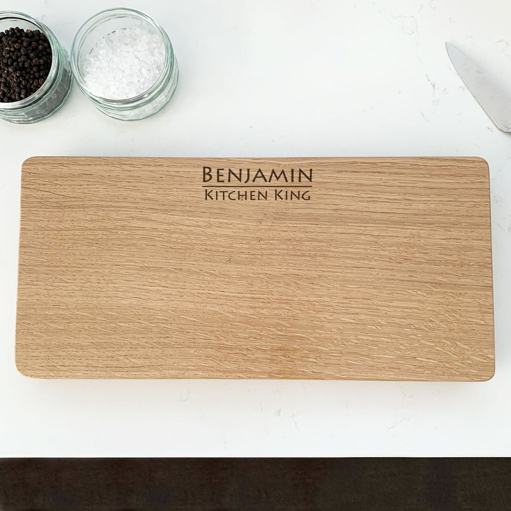 Personalised 'Top Chef' Chopping Board