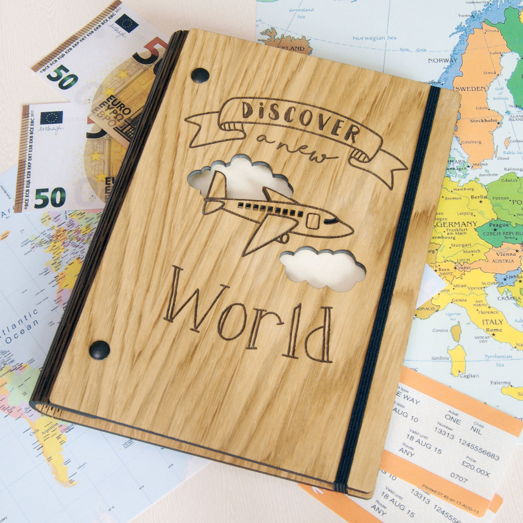 Travel Notebook in Ivory