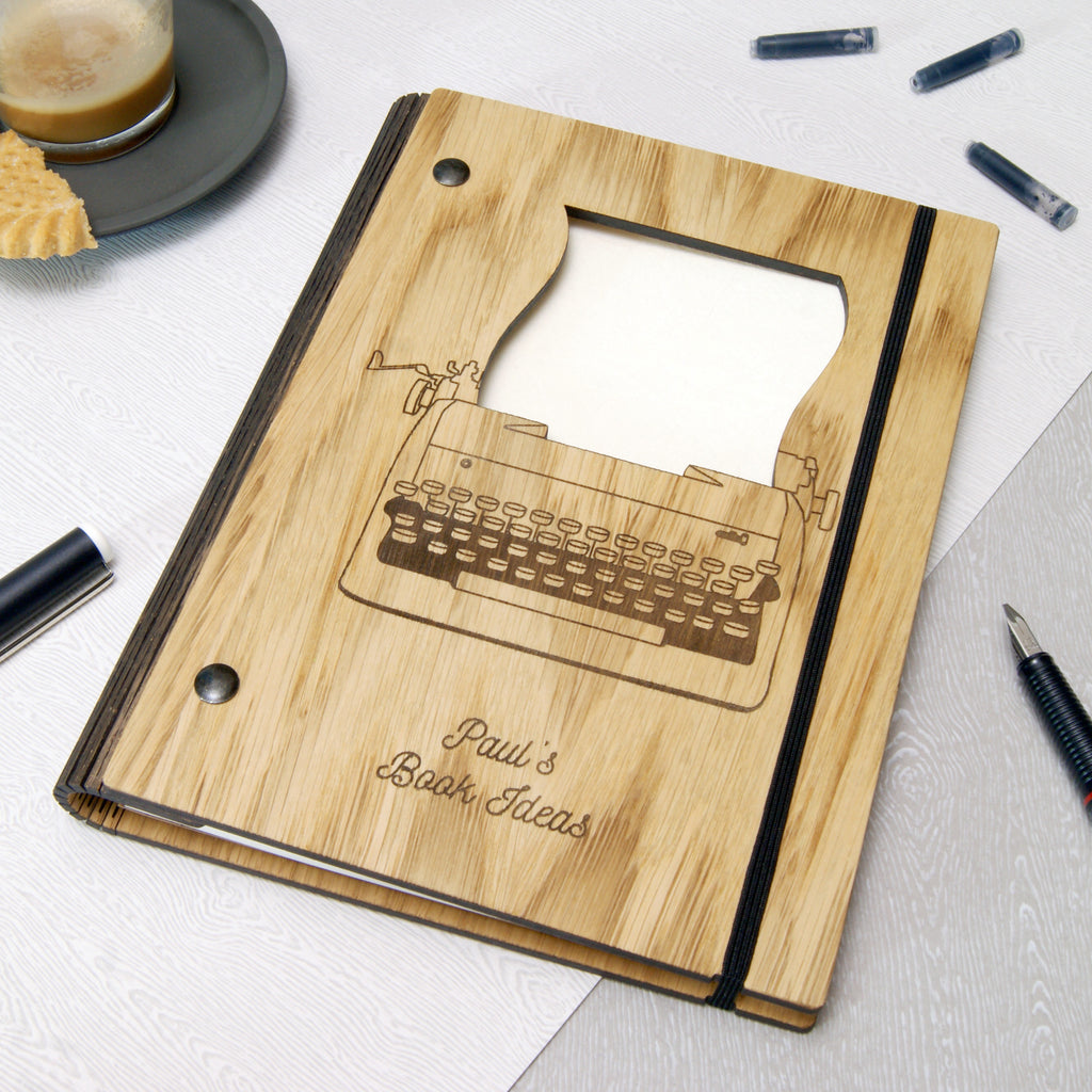 Writer's Notebook in Ivory