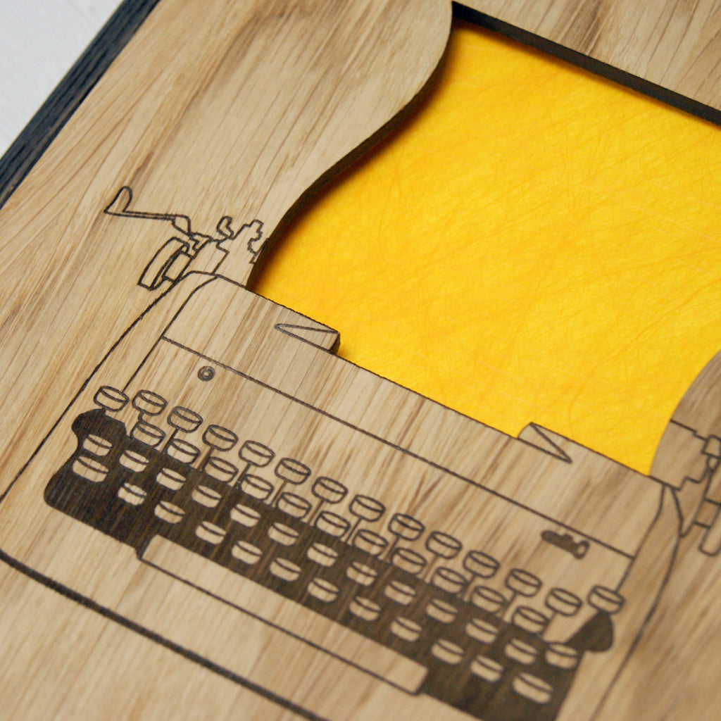 Writer's Notebook in Yellow