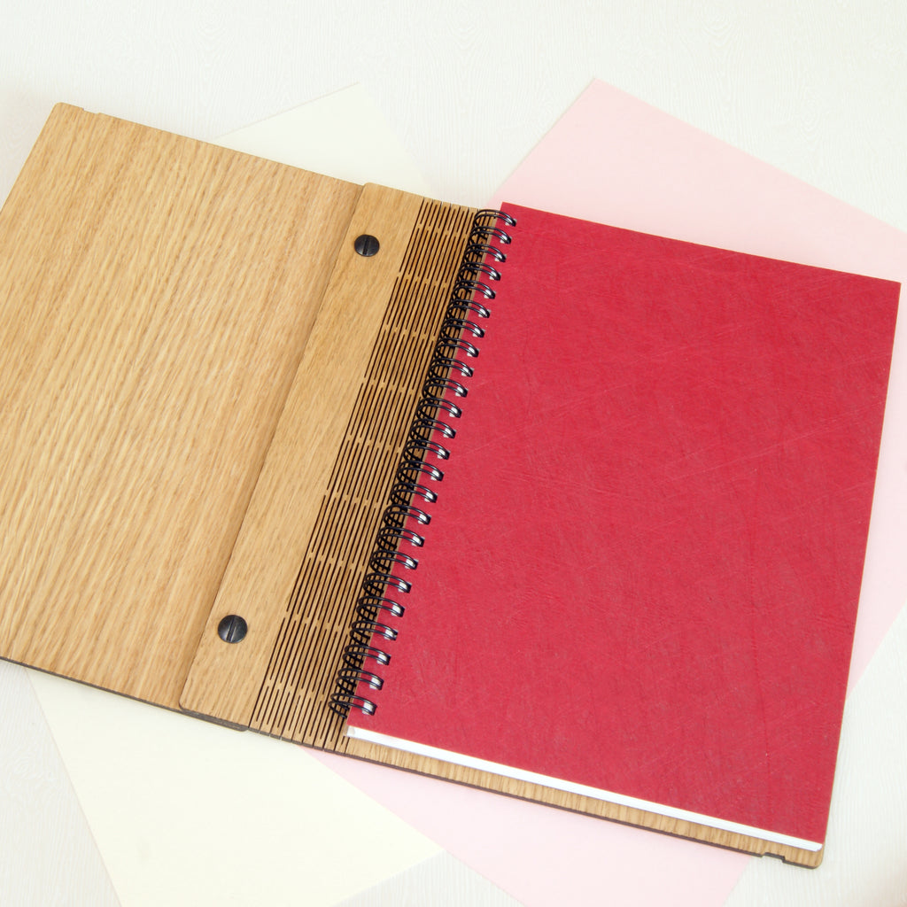 Adventure Notebook in Red