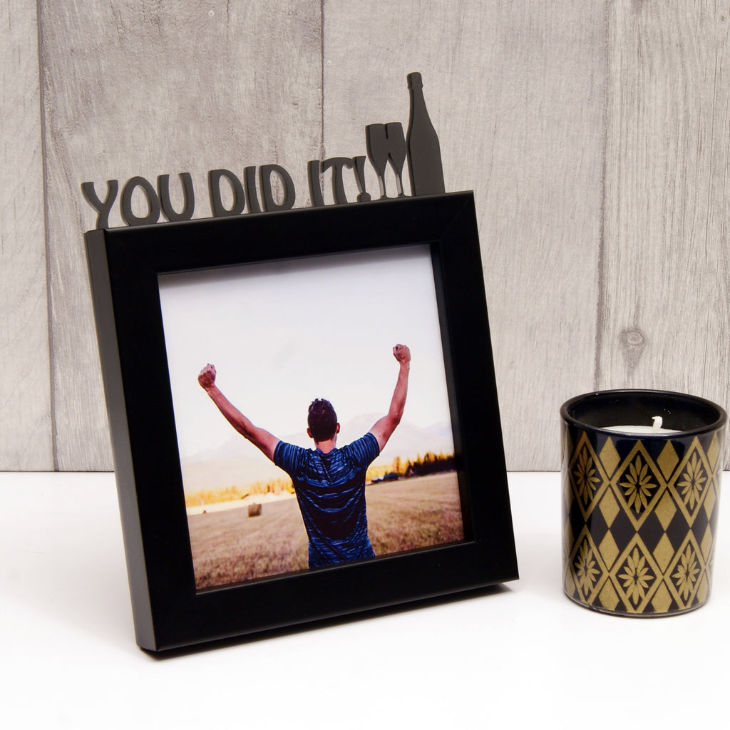 'You Did It!' Celebration Mini Photo Frame