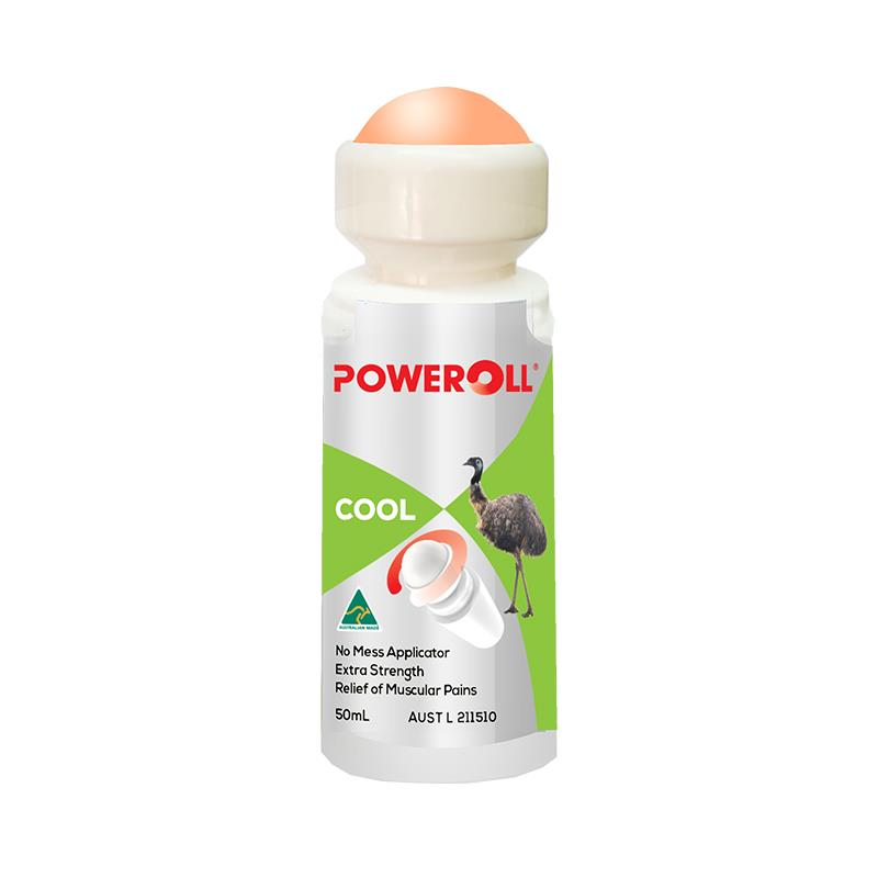 Poweroll Muscle Pain Roll-on Oil Cool 50ml