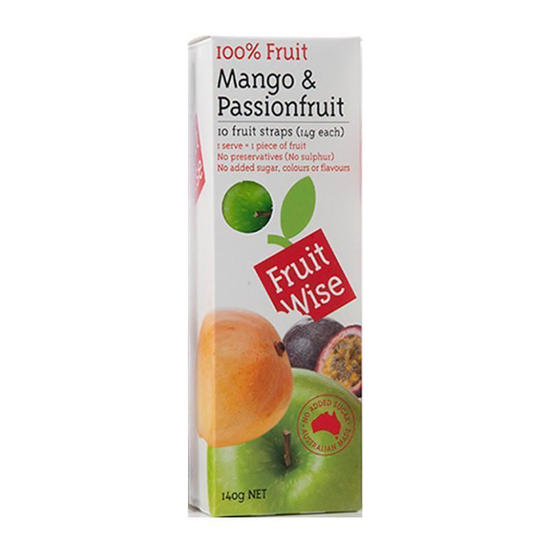 Fruit Wise 100% Fruit Apple£ Mango& Passionfruit 140g