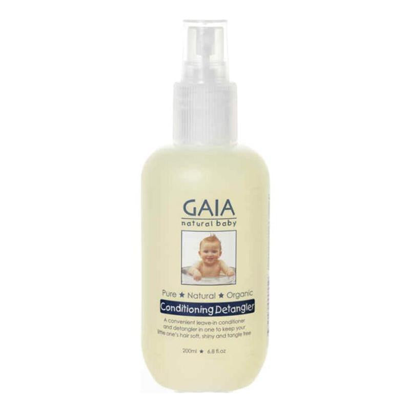 Gaia Natural Baby Conditioning Detangler 200 mL