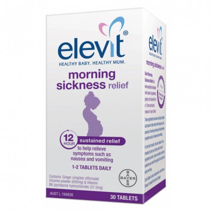 Elevit Morning Sickness Relief 30 Tables