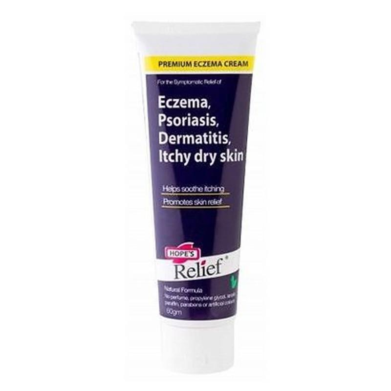 Hopes Relief Eczema, Psoriasis, Dermatitis, Itchy Dry Skin Cream 60g