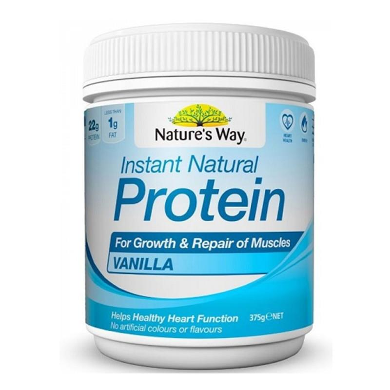 Natures Way Instant Natural Protein Vanilla Flavour 375g