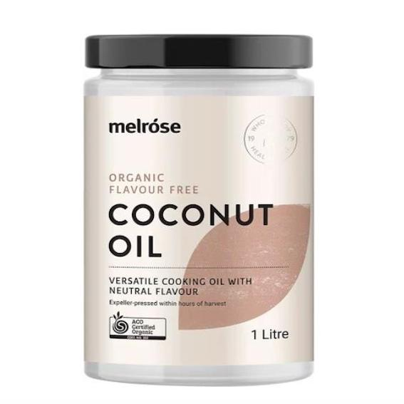 Melrose Coconut Oil Organic Flavour Free 1L