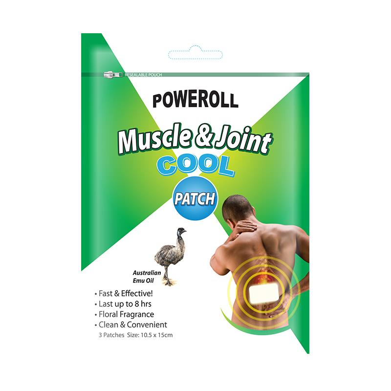 Poweroll Muscle&Joint Patch COOL 3 Patches