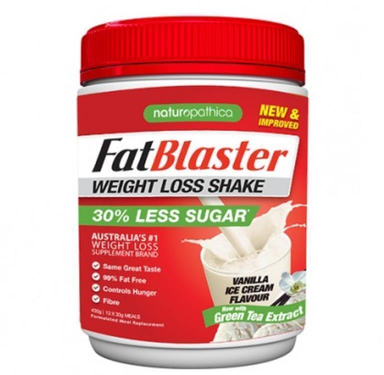 FatBlaster Weight Loss Shake Vanilla 430g
