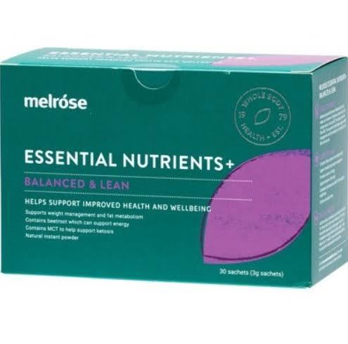 Melrose Essential Nutrients Balanced & Lean 3o 30*3g