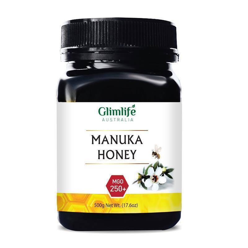 Glimlife MGO 250+ Manuka Honey 500g