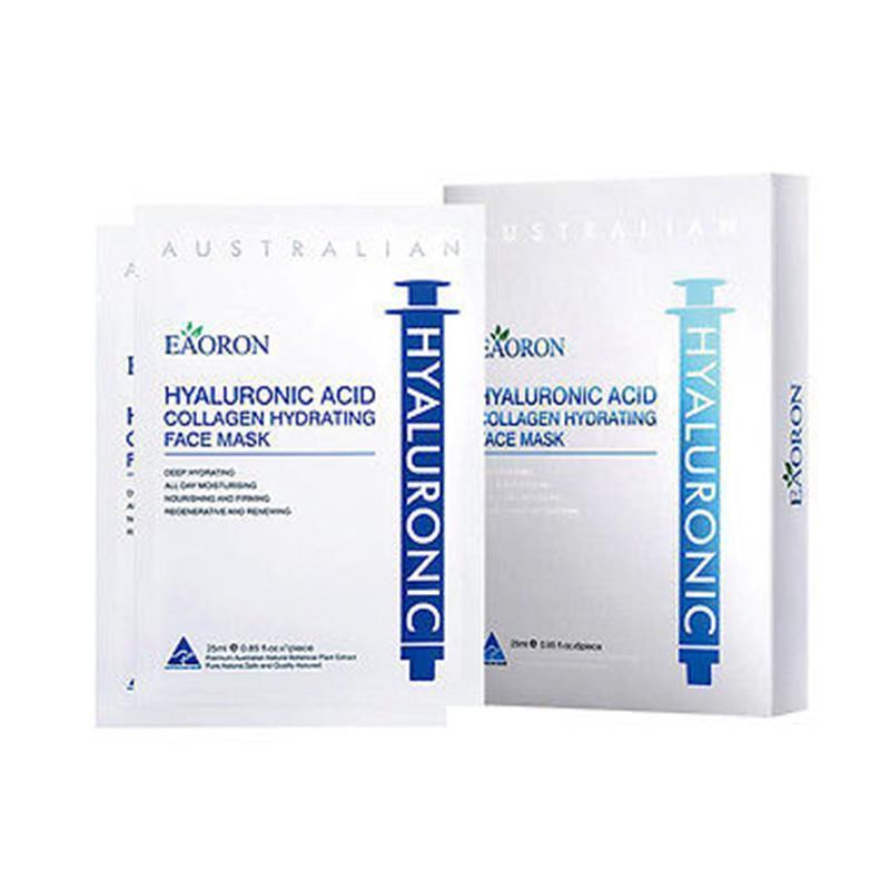 Eaoron Hyalueonic Acid Collagen Hydrating Face Mask 5 Pieces