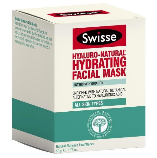 Swisse Hyaluro Natural Hydrating Facial Mask 50g