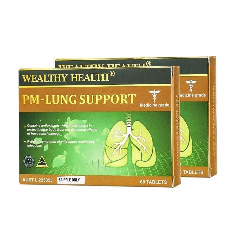 Wealthy Health PM - Lung Support