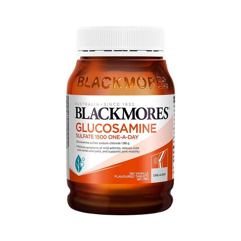 Blackmores Glucosamine Sulfate 1500mg One-A-Day 180 Capsules