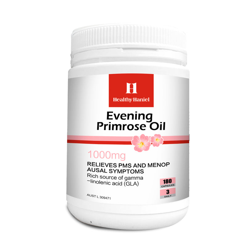Healthy Haniel Evening Primrose Oil 1000mg 180 capsules