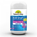 Natures Way Kids Smart Omega-3 Fish Oil Fruity Chewable Burstlets 50 soft Capsules
