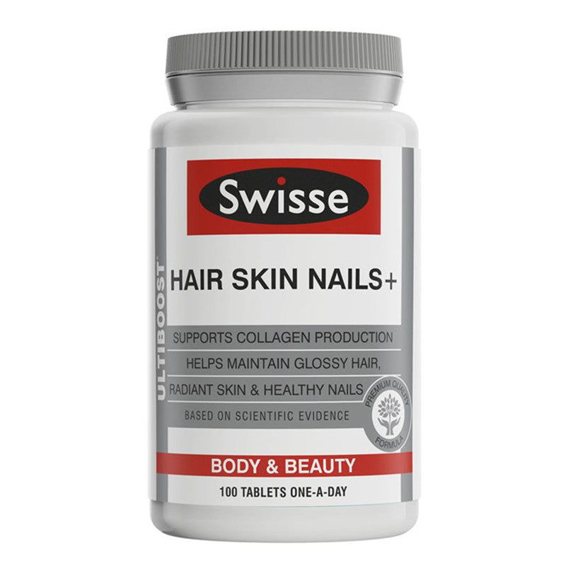 Swisse Hair Skin Nails 100 Tablets