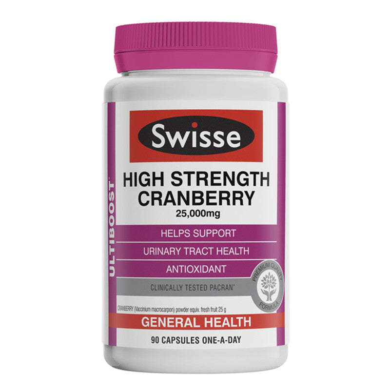 Swisse Ultiboost High Strength Cranberry 90 Capsules