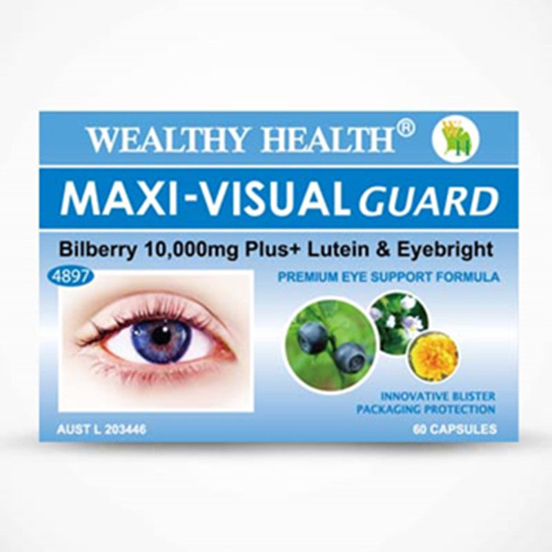 Wealthy Health Maxi-Visual Guard 30 Capsules