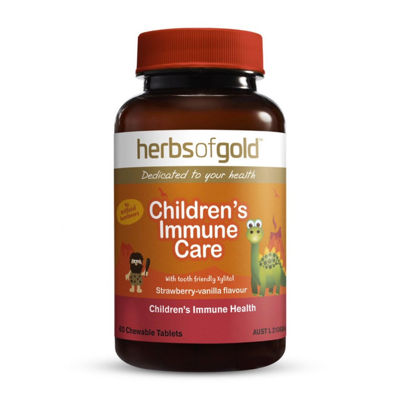 Herbs of Gold Childrens Immune Care 60 Chewable Tablets