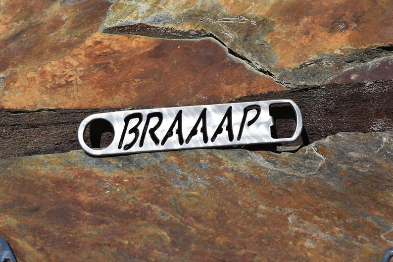 "Bottle Opener - Snowmobile ""Braaap"" Bottle Opener Third Shift Fabrication"
