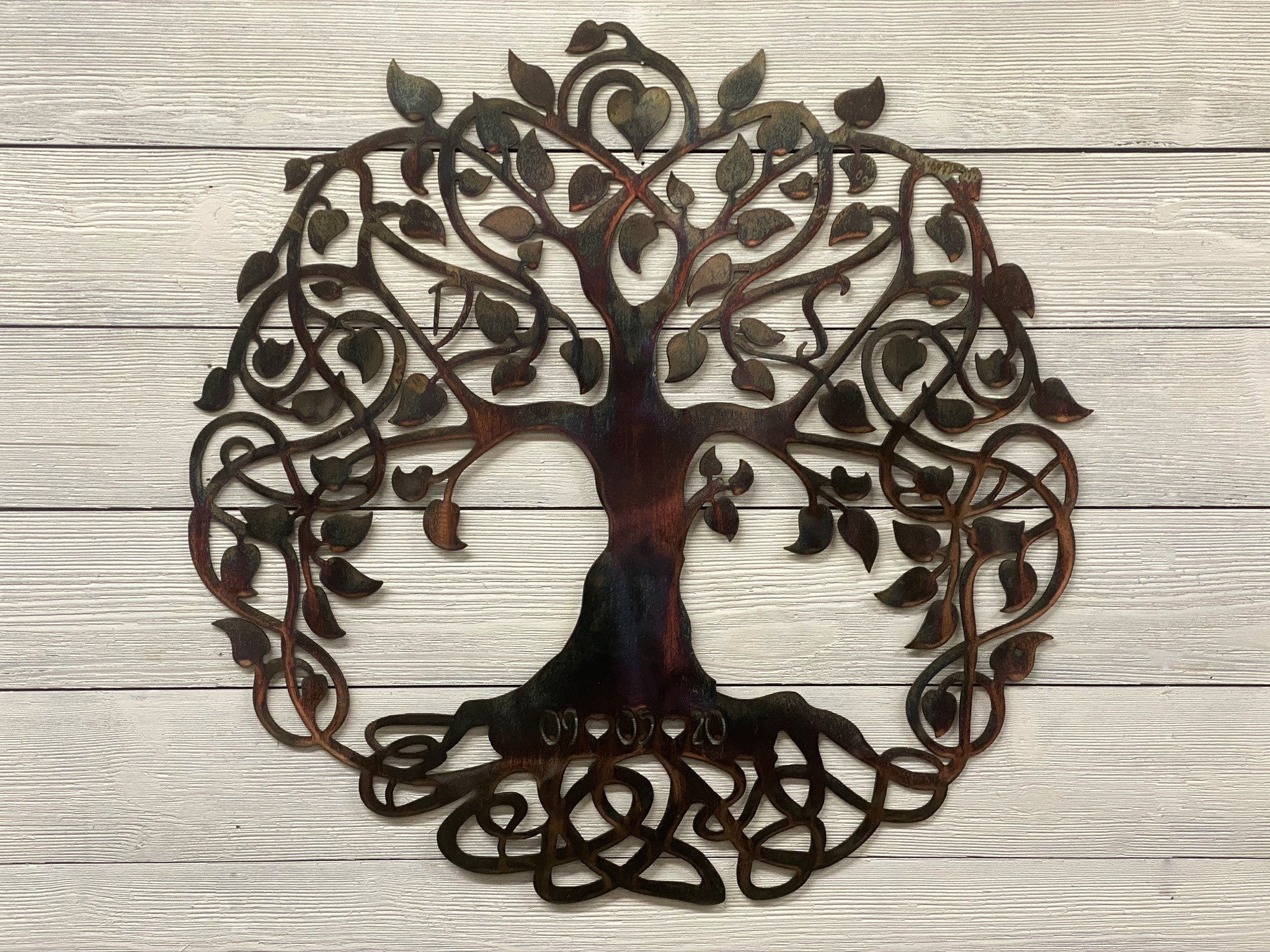 Celtic Tree of Life - Personalized Wall Art Third Shift Fabrication 24"