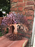 Celtic Tree of Life - Personalized Wall Art Third Shift Fabrication 30"