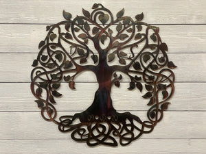 Celtic Tree of Life - Personalized Wall Art Third Shift Fabrication