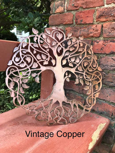 Celtic Tree of Life Wall Art Third Shift Fabrication 24"