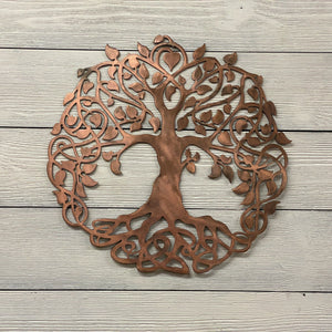 Celtic Tree of Life Wall Art Third Shift Fabrication 30"