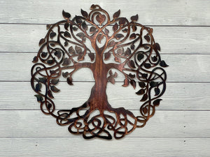 Celtic Tree of Life Wall Art Third Shift Fabrication