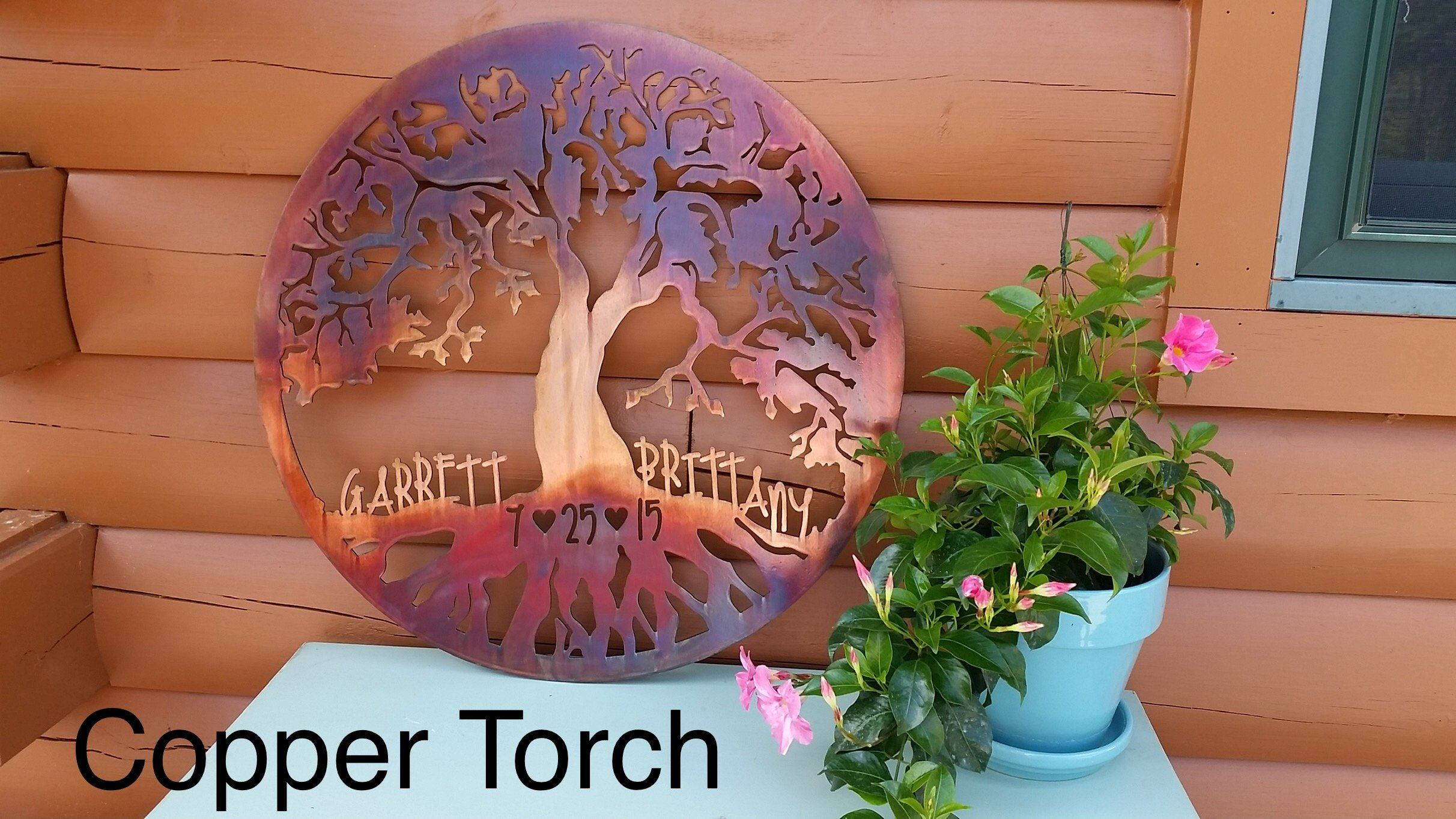 Classic Tree of Life - Personalized Wall Art Third Shift Fabrication