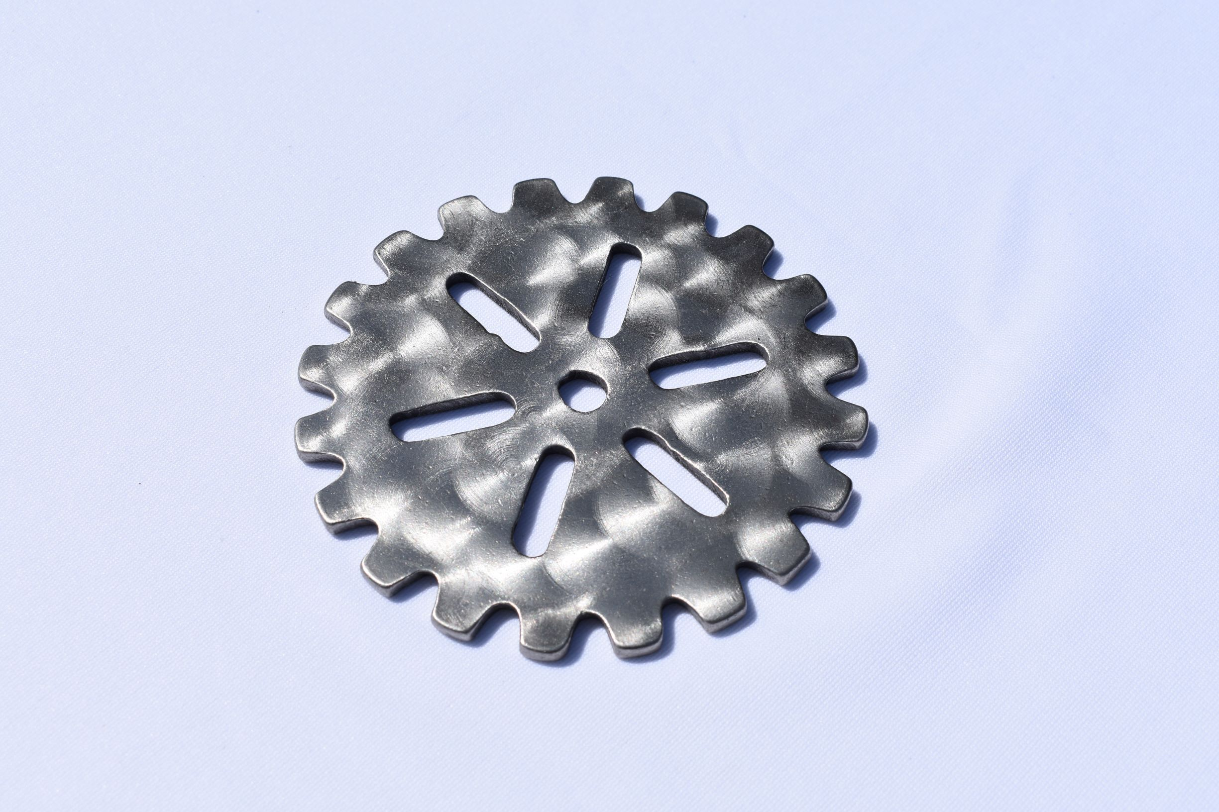 Coasters - Stainless Steel Gears Third Shift Fabrication Large